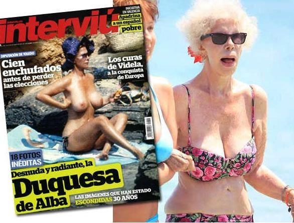 Noticias Curiosas Noticias Fotos De La Duquesa De Alba Desnuda