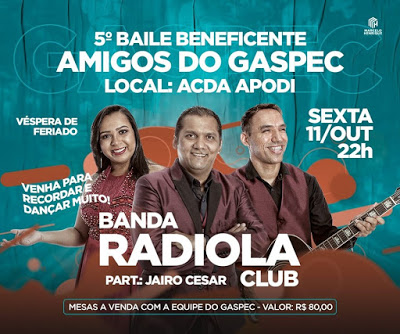 5º BAILE AMIGOS DO GASPEC