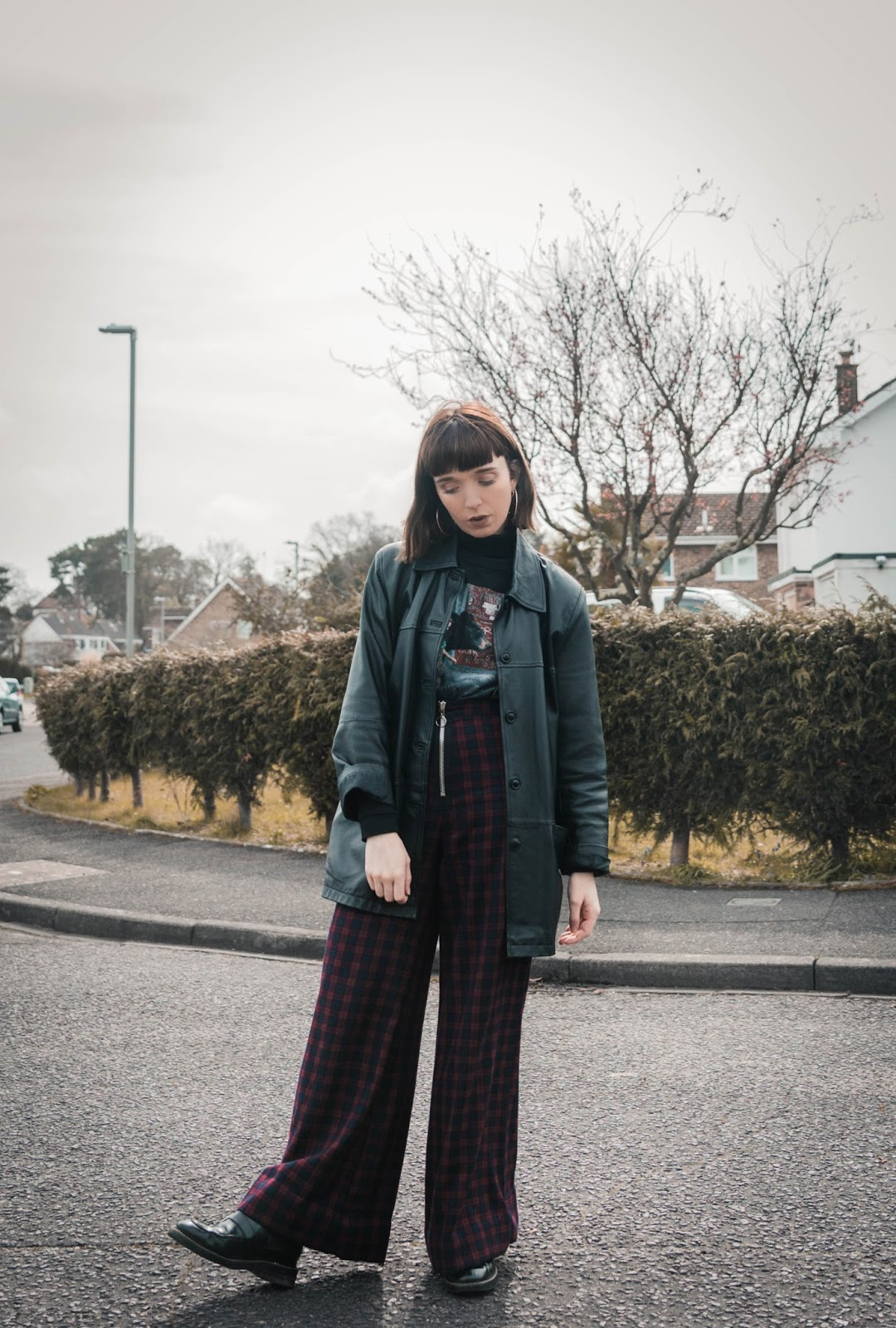 Ragged Priest Tartan Trousers