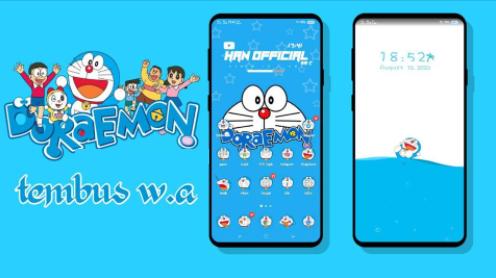Tema Doraemon Tembus Semua Aplikasi Untuk Vivo All Series Terbaru