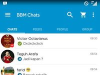 Update BBM Mod V2.13.0.26 apk Official Theme (Clone)