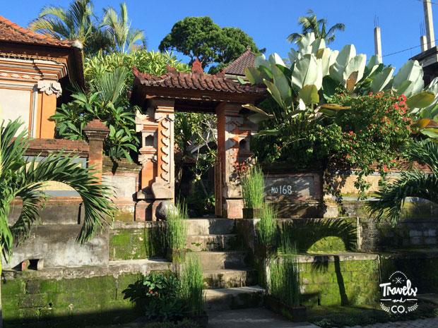 Viajar a Bali guía de viaje - casas típicas Bali