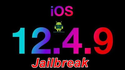 iOS12.4.9 Jailbreak Apple Device (iPhone-iPad & iPod) Windows Pc.