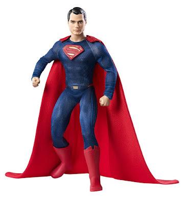 TOYS : JUGUETES - BARBIE Collector Black Label Superman : Henry Cavill | Muñeco Producto Oficial Película 2016 | BATMAN VS SUPERMAN Mattel DGY06 | A partir de 6 años Comprar en Amazon España & buy Amazon USA