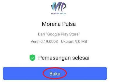Buka Aplikasi Morena Mobile Topup