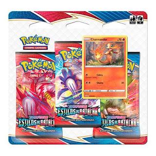 Pokémon TCG Estilos de Batalha Triple Pack