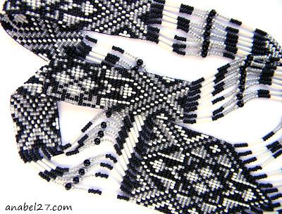 купить гердан из бисера в стиле этно фото цена украшения из бисера