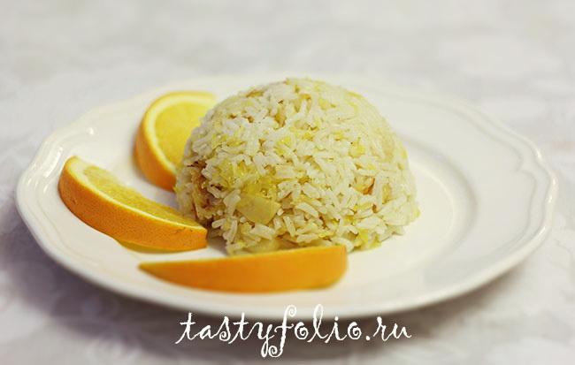 рис с апельсинами рецепт