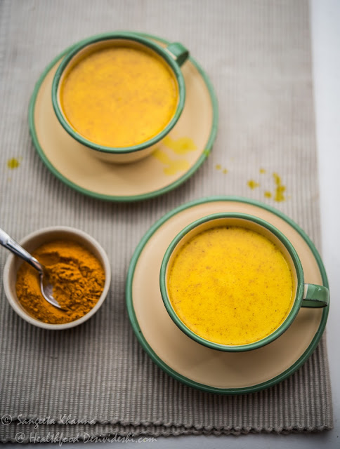 best recipe of turmeric latte