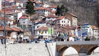 At the river Miljacka