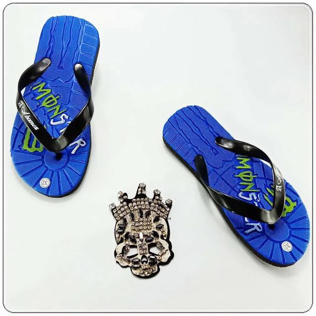 Produksi Sandal Spon Anak Tanggung Termurah | Sandal Social TG GSJ