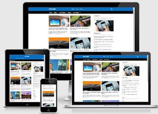 NJW Grid - Template Blog SEO Terbaru Varian New Johny Wuss (Gratis)