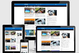 NJW Grid - Template Blog SEO Terbaru Varian New Johny Wuss (Gratis)