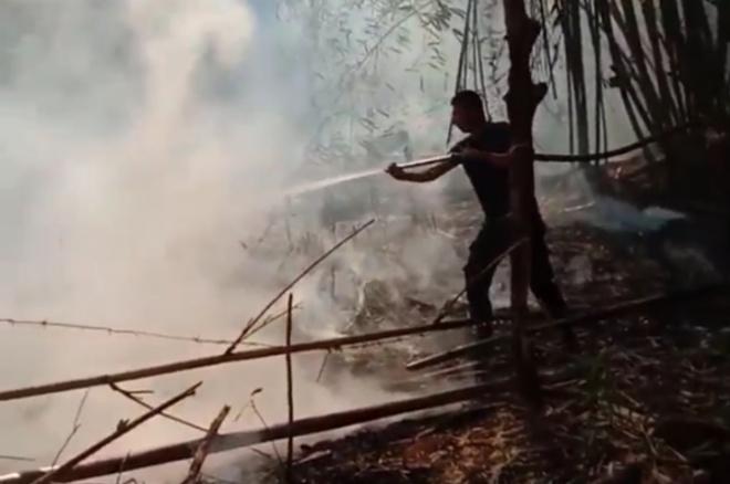 2 Titik Di Bone Alami Kebakaran Lahan dalam Sehari