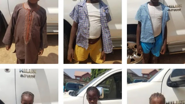 Child Trafficking Kingpin Nabbed As Gombe Police Command Returns Unclaimed Children To Anambra (Photos)