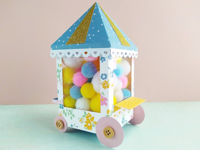 Carretto Luna park - Carnival Cart - Home decor