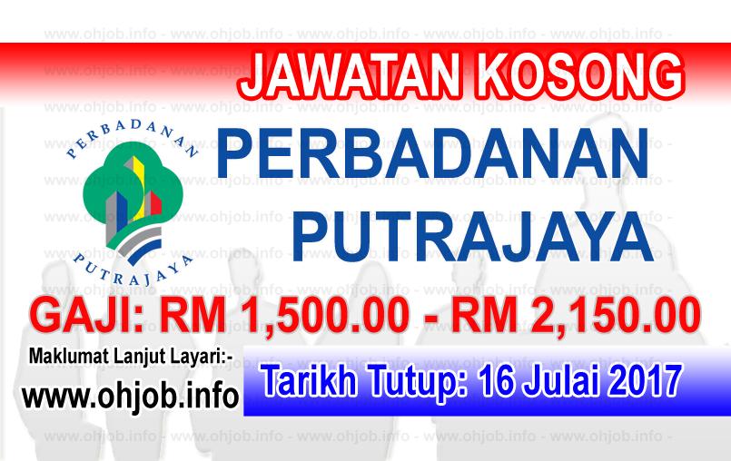 Jawatan Kerja Kosong Perbadanan Putrajaya - PPj logo www.ohjob.info julai 2017