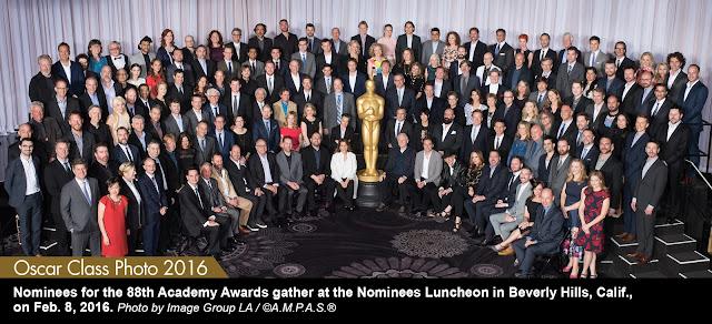 Oscars Class Photo 2016