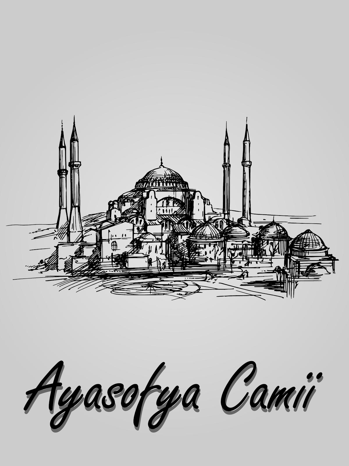 Ayasofya Camii Vektörel