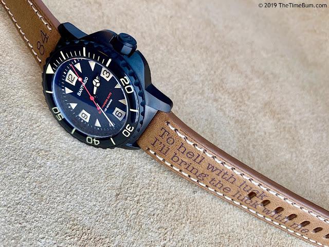 Undone Aqua Pro-Custom Time Bum Santiago