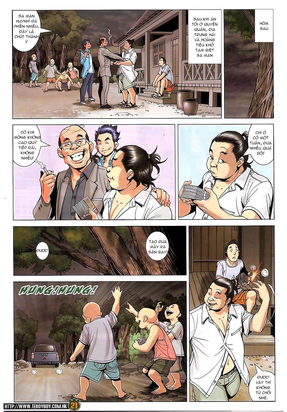 NGƯỜI TRONG GIANG HỒ trang 20