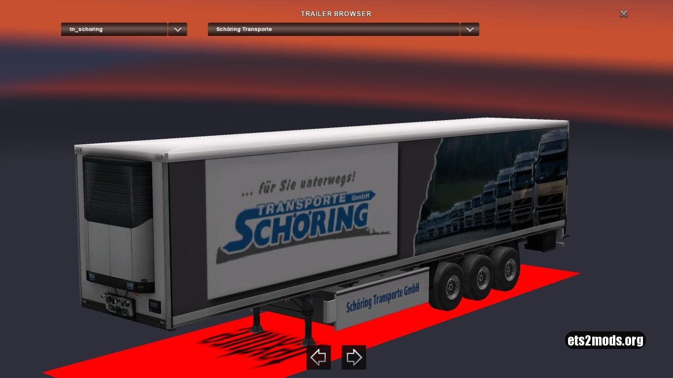 Standalone Schöring Transporte Trailer v 1
