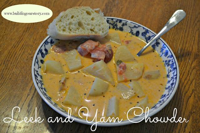 Leek and Yam Chowder Recipe