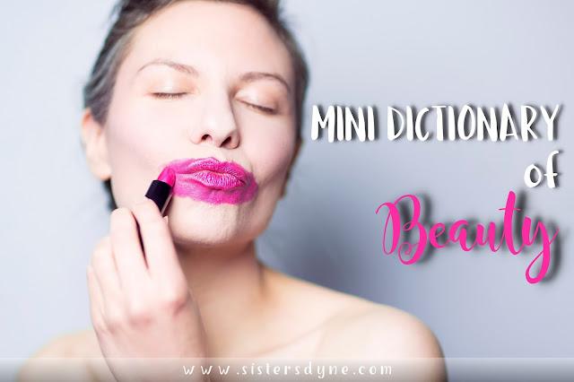 dictionary of beauty