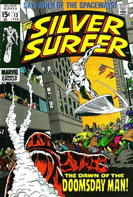 Silver Surfer #13, Doomsday Man