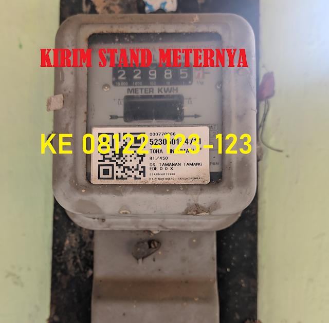 Saatnya kirim Stand Meter PLN 24-27 Mei 2020