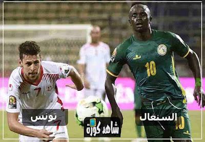 مشاهدة مباراة تونس والسنغال بث مباشر اليوم