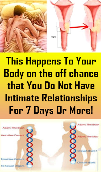 This Happens To Your Body on the off chance that You Do Not Have Intimate Relationships For 7 Days Or More! #Health #Medical