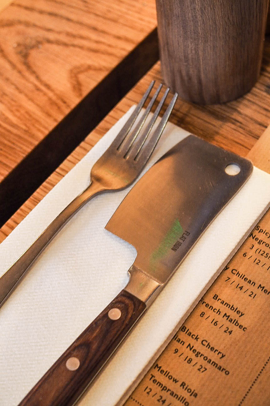 Mini meat cleaver