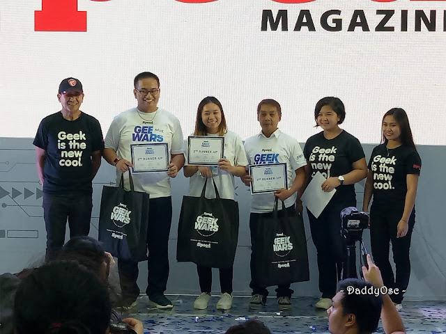 2nd Runner-up, Geek Wars