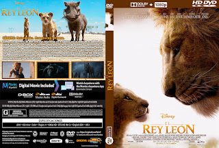 CARATULA EL REY LEON - THE LION KING - 2019
