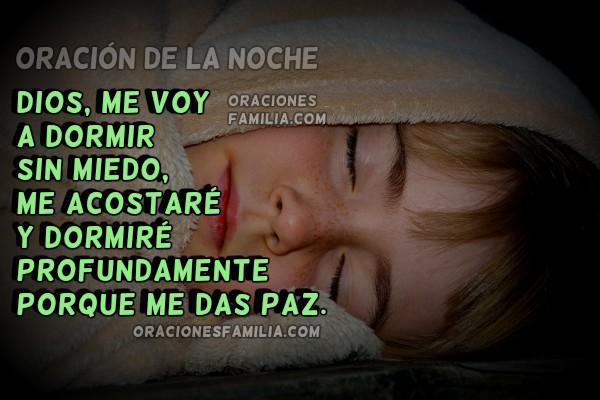frases de la noche, plegarias, Oración para Dormir sin Miedo. Oraciones de la noche para niños por Mery Bracho