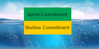 Sprint Commitment vs Shallow Commitment