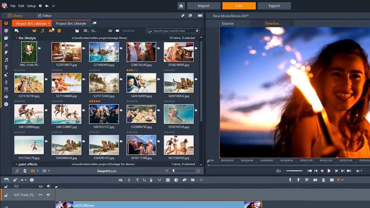 Tải Pinnacle Studio 21 Ultimate | Phần mềm chỉnh sửa Video chuyên nghiệp