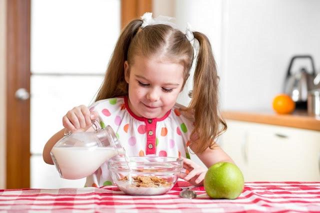 Anak Menyukai Minum Susu