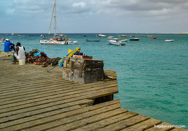 Píer de Santa Maria, Ilha do Sal