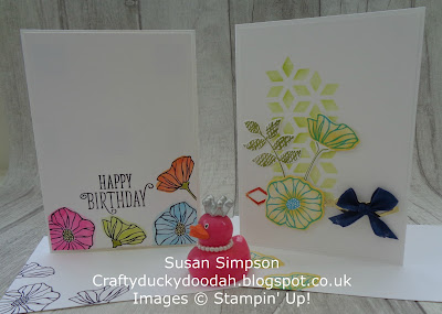 Stampin' Up! UK Independent  Demonstrator Susan Simpson, Craftyduckydoodah!, Oh So Eclectic Bundle, June 2017 Coffee & Cards Project, Supplies available 24/7 from my online store,