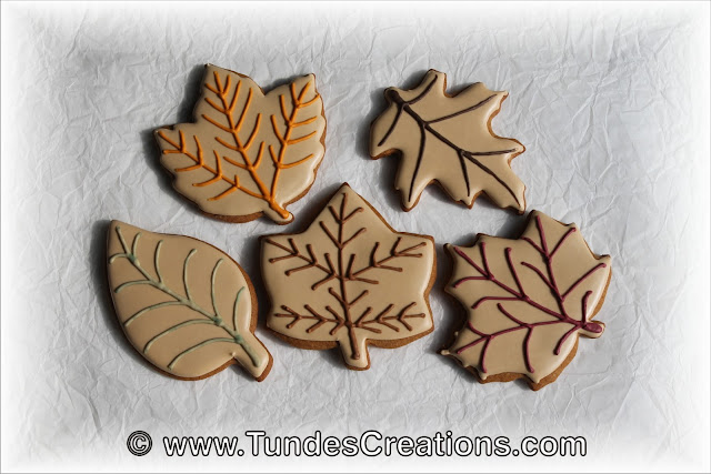 Simple leaf cookies by Tunde Dugantsi