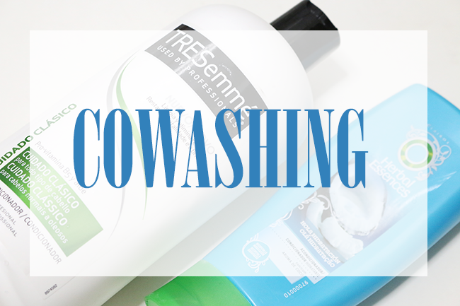 Cowashing: Natural hair, transitioning hair and other hair types