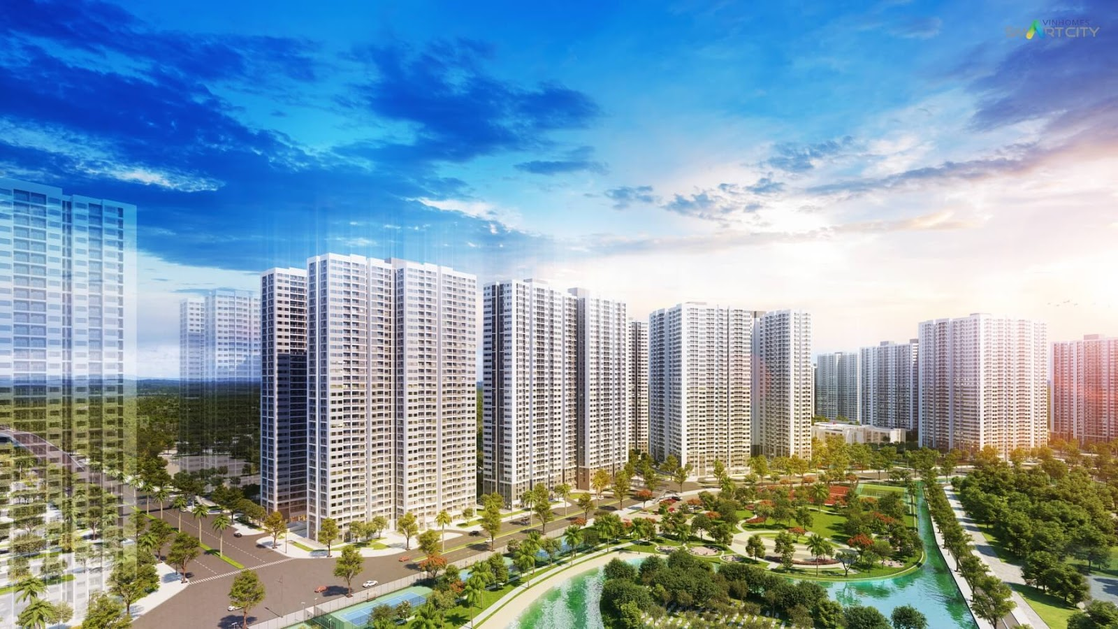 Phối cảnh tổng thể Vinhomes Smart City