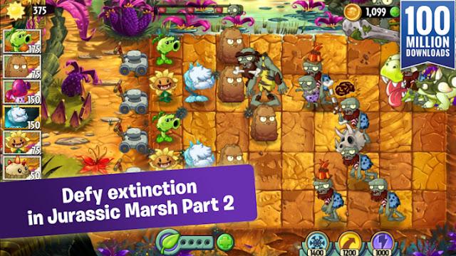 PvsZ2-mod-apk Plants vs Zombies 2 MOD APK [Free Shopping] v4.5.2 +DATA Apps