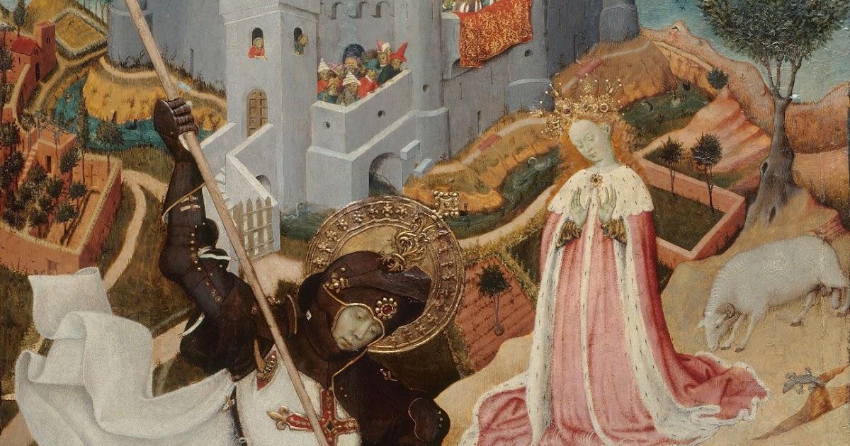 """Saint George Killing the Dragon"" by Bernat Martorell Essay Sample"