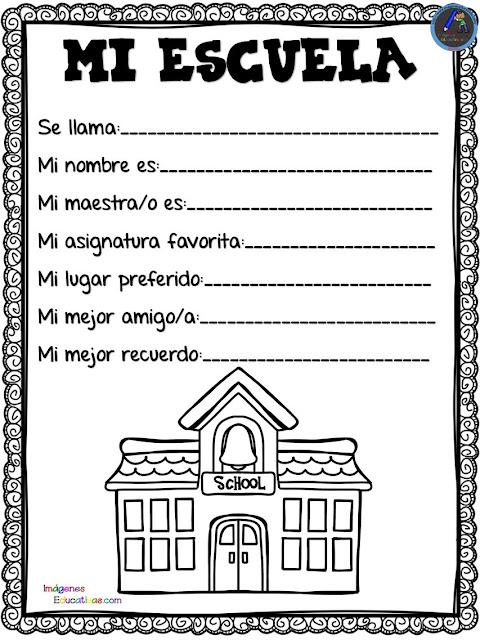 Fichas de Primaria: Anuario escolar