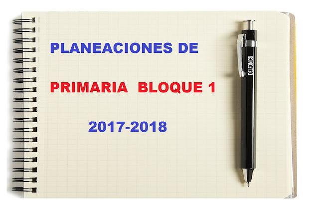 planificaciones,bloque 1,primaria,bimestre 1