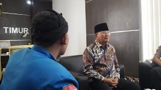 Air PDAM Macet, PMII Lombok Timur Lapor ke Wakil Bupati