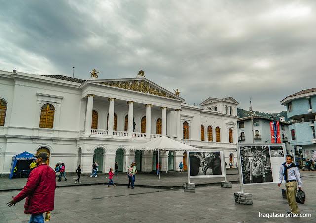 Teatro Nacional Sucre, Centro Histórico de Quito, Equador